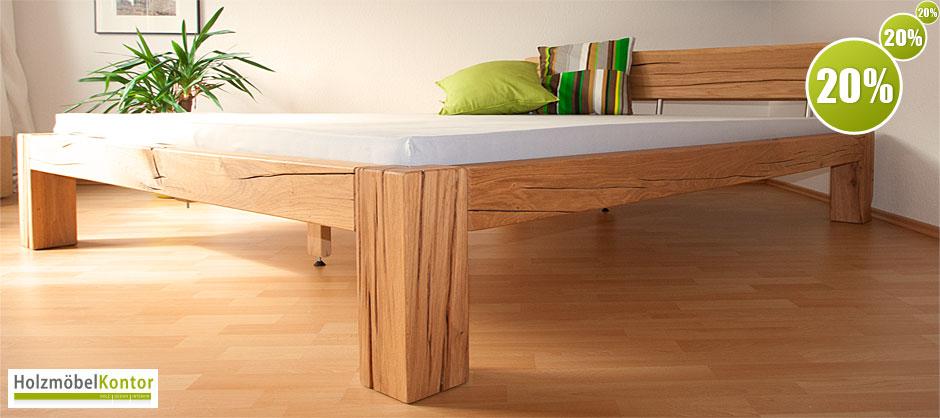 Massivholzmöbel Freye | schöner wohnen | Design für Bett und Tisch